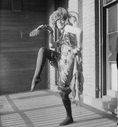the dadaist Baroness Elsa von Freytag-Loringhoven, 1920s