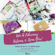 INSTAGRAM GIVEAWAY . . Don't forget to enter my @artemisandxena Giveaway! . . Artemis & Xena is a well-being box for women and teenage girls. You can read my review of the January box here : http://ift.tt/2jIrihj  To enter to win an Artemis and Xena February box just simply follow the steps below:- 1. Follow BOTH @artemisandxena & @boxnip - you must follow BOTH accounts. 2. Tag 3 friends below. 3. Repost this image and tag @artemisandxena & @boxnip in the pic and use the hashtag…