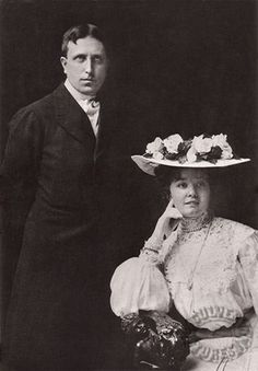 Image result for wr hearst and wife millicent
