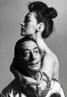 Gala and Salvador Dalì