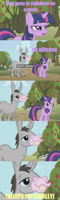 Twilight! He Cries On The Inside!