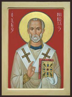 Byzantine Icons, Saint Nicholas, Art Icon, Orthodox Icons, Sacred Art, Religious Art, Saints, Princess Zelda, Painting