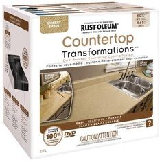 Granite Countertop Prices Home Depot Canada : ... Countertop Transformations Desert Sand Kit Home Depot Canada
