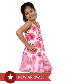 20% discount on Pink Frock For Kids at Snapdeal.com