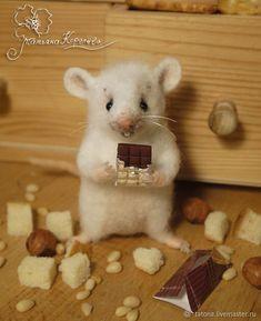 Needle Felted Animals, Felt Animals, Cute Baby Animals, Maus Illustration, Cute Rats, Pet Mice, Needle Felting Tutorials, Felt Mouse, Cute Mouse