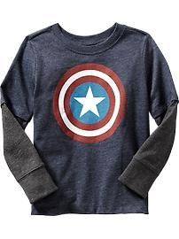 Marvel Comics® Captain America Tee for Baby