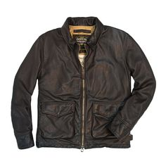 Division Commander's Leather Tanker Jacket - Cockpit USA