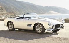 1959 Ferrari 250 GT LWB California Spider #ferrarivintagecars