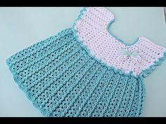 Crochet Patterns Girl Crochet girl dress with fan point Crochet Girls, Crochet Baby Clothes, Crochet Woman, Crochet For Kids, Crochet Top, Fashion Show Dresses, Fashion Dress Up Games, Dress Fashion, Knitting Videos