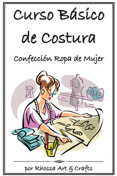 Curso Costura - Fr Tutorial and Ideas Clothing Patterns, Sewing Patterns, Spring Tutorial, Sewing Courses, Nail Tutorials, Learn To Sew, Learn Sewing, Sewing Techniques, Pattern Making