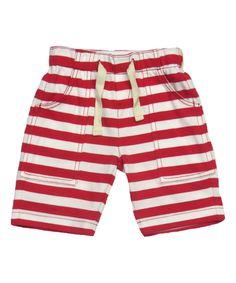 Men's Long Sleeve Red & White Striped Shirt by SkirtStar on Etsy ...