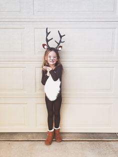 Little Girl Deer Costume