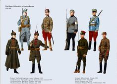 Pole Czech and Baltic troops 1918 - 21 | ⇆ 2,7´ | it