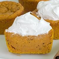 OMG Pumpkin Pie Cupcakes | OMG Chocolate Desserts