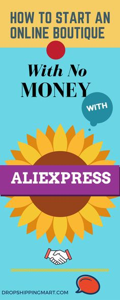 To start  a #onlineboutique with aliexpress you don't need money upfront  The options for starting a #dropshipping company .No Warehousing, No Upfront payment to wholesalers.. Handpicked suppliers who will work in pay as you go basis, so you only pay when