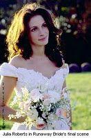 23 januari 2012: Weglopen. Foto: Julia Roberts als Maggie Carpenter, de vrouw die bang is de keuze om zich te binden waar te maken, in Runaway Bride