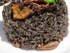 Arroz negro con chipirones olla gm,