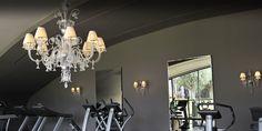 Gym. Always classy. Andromeda @PalaisNamaskar