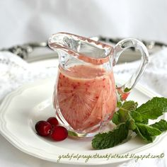 Cranberry Orange Salad Dressing