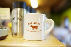 Eat Local at the Swamp Rabbit Cafe. // yeahTHATgreenville