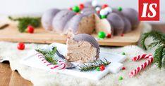 Suklaajäädyke sopii mihin tahansa juhlaan, myös joulupöytään.