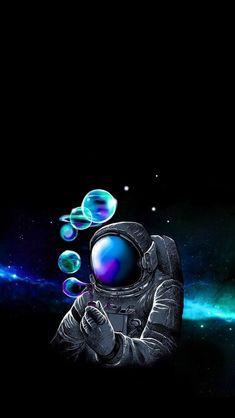 Alone in Space | Space phone wallpaper, Purple galaxy wallpaper, Mobile wallpaper