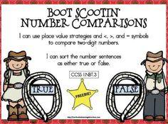 Classroom Freebies Too: Boot Scootin' Math Freebie Teacher Freebies, Classroom Freebies, Math Classroom, Kindergarten Math, Classroom Ideas, Teaching Activities, Math Resources, Teaching Math, Teaching Tools