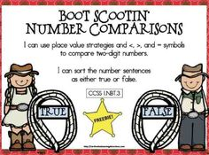 Classroom Freebies Too: Boot Scootin' Math Freebie