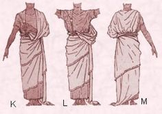 Costume history - early Assyrian draped shawl. http://www.fashion-era.com/ancient_costume/assyrian_clothing_pictures_assur.htm#King_Assur-nasir-pals_draped_Shawl_Pattern_Guideline_