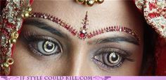 Diamonds in Your Eyes - Beauty addicts are eyeing a new trend — custom-made, gold-plated contact lenses featuring 18 twinkling diamonds. The eerie and alluring new jewelry line from Shekhar Eye Research satisfies those who aren't content to simply boast bling on their skin.