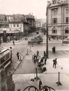 Old Pictures, Old Photos, Bucharest Romania, Old City, Time Travel, Paris Skyline, Street View, Europe, Memories