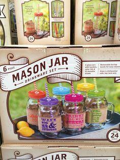 Mason jar set.... At Sam's