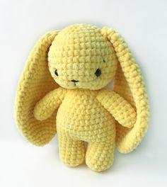 Easy Crochet Animals, Crochet Animal Patterns, Stuffed Animal Patterns, Crochet Patterns Amigurumi, Crochet Dolls, Quick Crochet, Cute Crochet, Crochet Geek, Knit Crochet