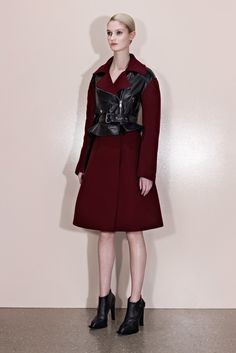 And in red.  McQ by Alexander McQueen Pre-Fall 2013