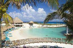 Mexico, Playa del Carmen. Occidental Grand Xcaret Hotel.
