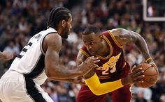 Spurs wear out LeBron James and Cavs in title-contender matchup...: Spurs wear out LeBron James and Cavs in title-contender matchup… #Spurs