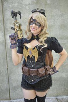 Steampunk Batgirl | Photo by Martin Wong 2015  #steampunk #cosplay