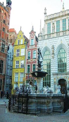 Gdansk Poland, and Poland's architecture in general is breath taking. Especially since most of Poland was re-built after WWII from blue prints of cities. Want help planning your next trip? Click through to check out imagine backpacking.