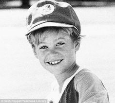 A very young Paul Walker. So cute!