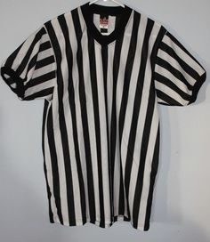Referee Shirt Soccer Football Basketball Medium M Alleson Athletic Sports  #AllesonAthletic #ShirtsTops