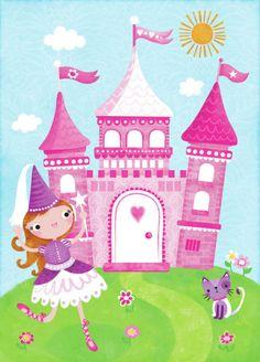 Emma Pearce - Princess and Castle.jpg