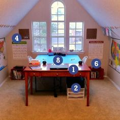 Good idea...teacher between two students at table. Ample room for all.
