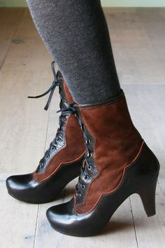boots - if the brown was teal I would be in love