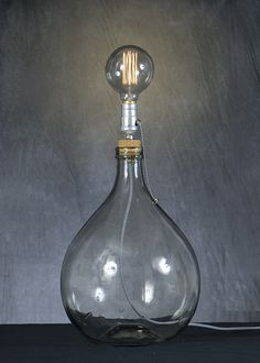 Wine Decanter, Light Bulb, Barware, Lighting, Home Decor, Collection, Decoration Home, Room Decor, Wine Carafe
