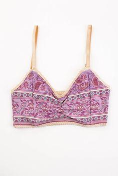 Gypsy Love Bralette - Lilac