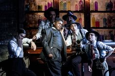 A scene from Bugsy Malone at the Lyric Hammersmith.