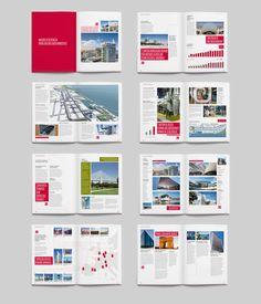 Brochure spread layouts