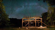 Timber Framed Barn ... under the Milky Way