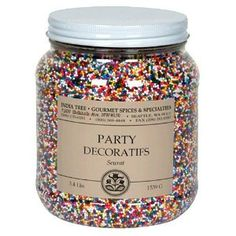 Williams Sonoma Natural Sprinkles. Dye free. Colours derived from ...
