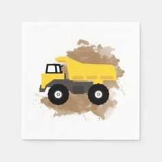 Dump Truck Construction Vehicle Mud Watercolor Napkins first day of school ideas, m m back to school, school hackes #backtoschoolbraids #backtoschoolcolor #backtoschoolxHuawei, dried orange slices, yule decorations, scandinavian christmas Cute Cartoon Animals, Yule Decorations, Dump Truck, Blog Design, Scandinavian Christmas, Christmas Card Holders, Baby Shower Invitations, Mud, Nursery Decor